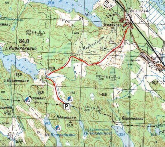 Схема проезда к месту