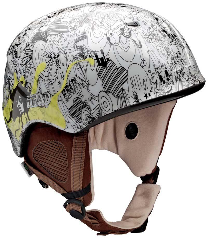 Шлем Head Cloe AUDIO radical white