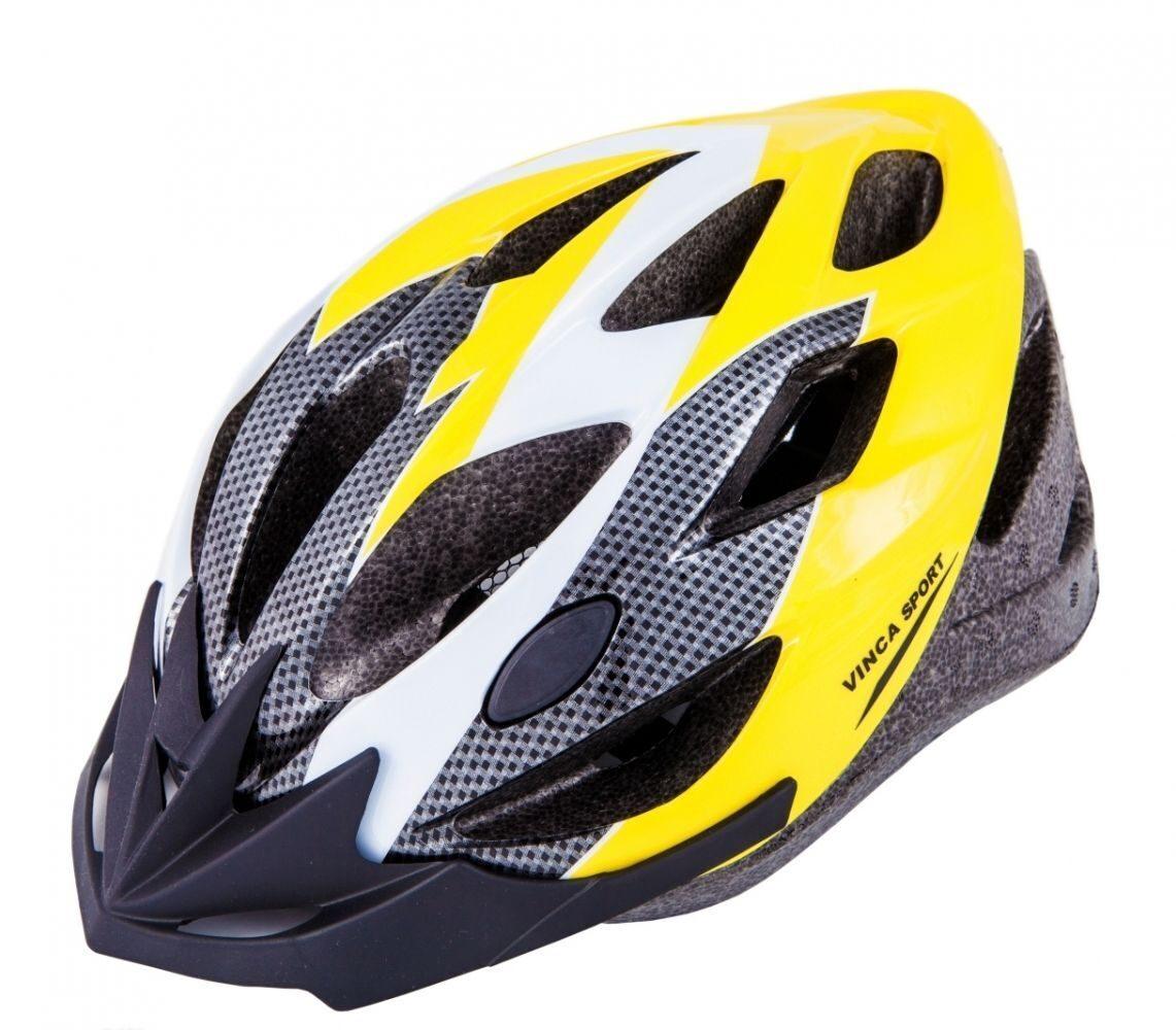 Шлем MTB Vinca sport VSH 23 серый/желтый