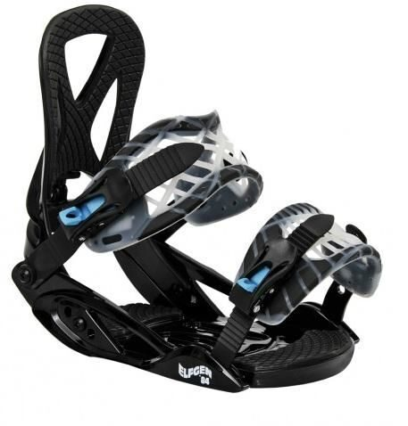 Крепления сноубордические ELFGEN Trick black
