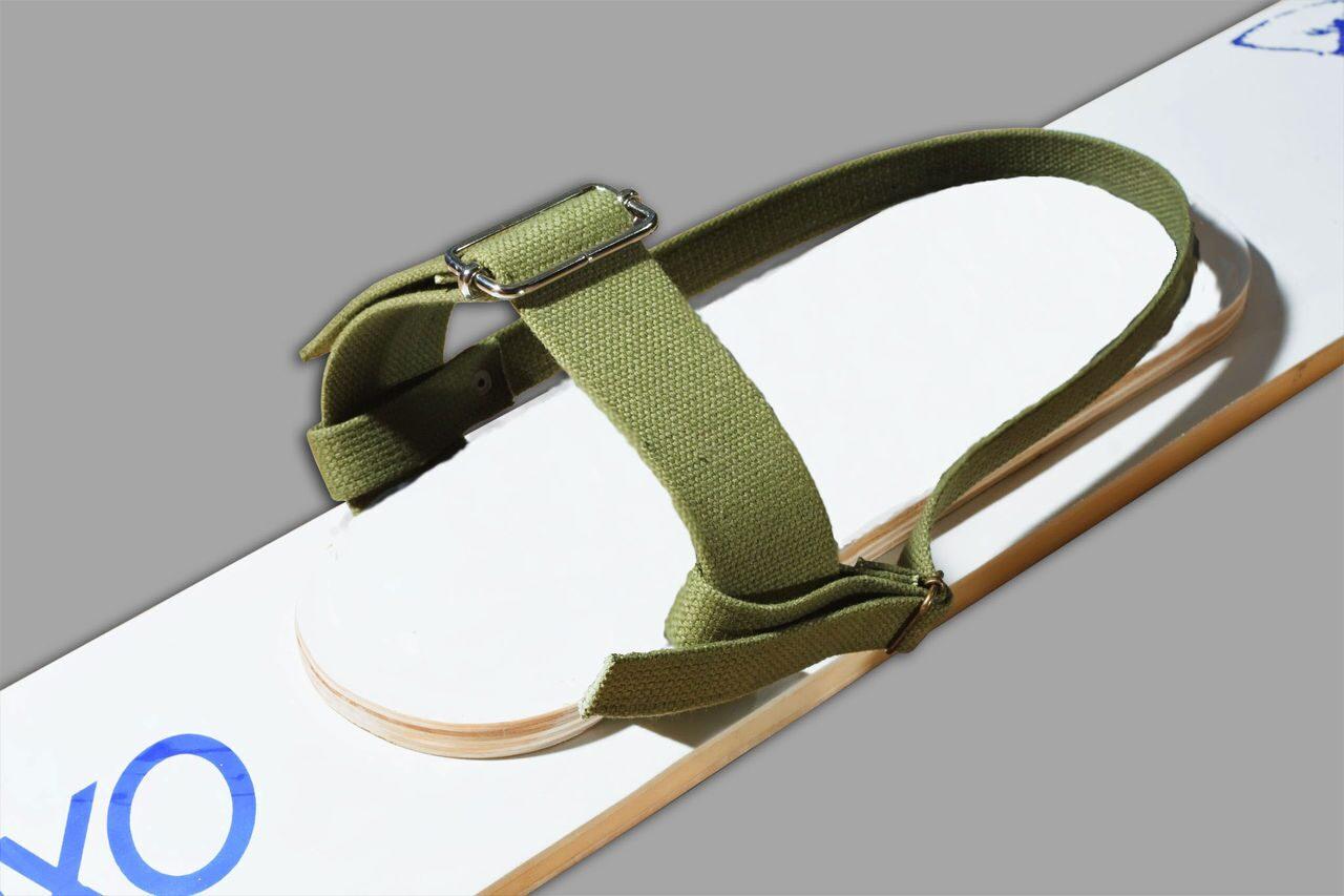 Крепления для охотничьих лыж - брезент (без амортизатора)