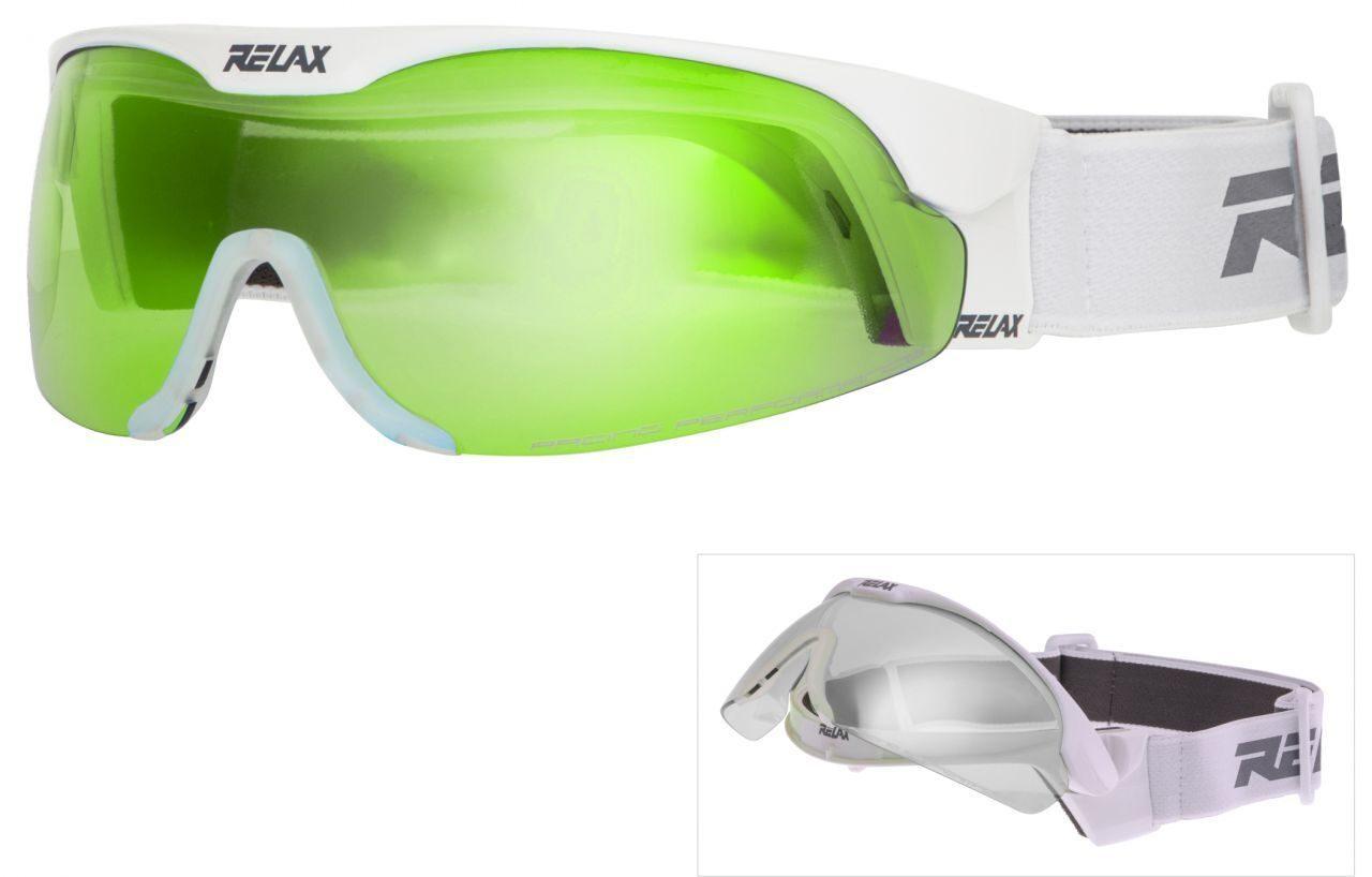 Очки для лыжных гонок и биатлона Relax HTG34F + линза