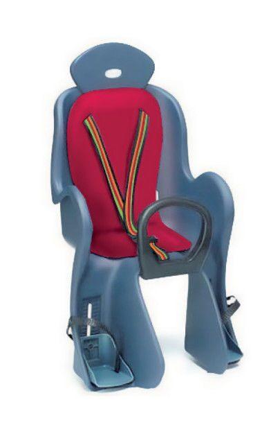 Детское велосипедное кресло на подседельную трубу VS 800 red