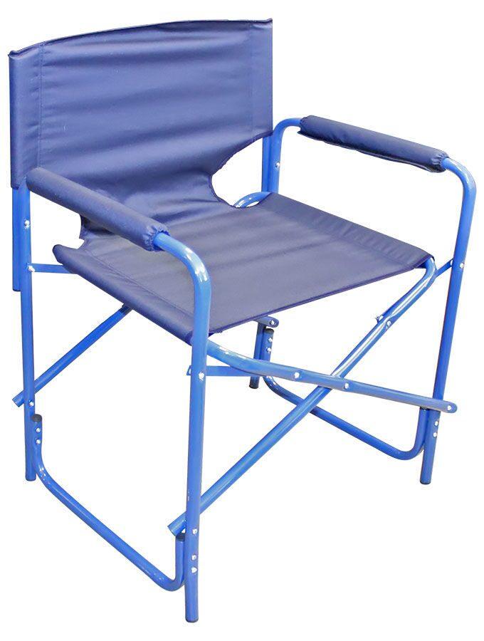 Кресло складное Следопыт синее