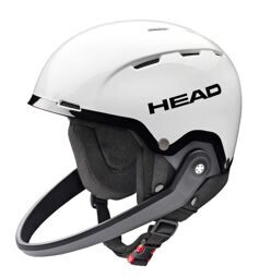 Шлем Head Team SL white/black + Chinguard